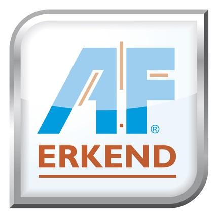 logo af erkend